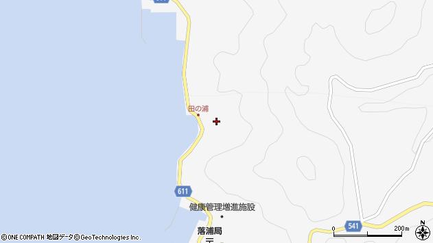 大分県津久見市四浦4102周辺の地図