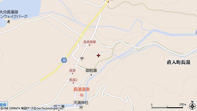 大分県竹田市直入町大字長湯7931周辺の地図