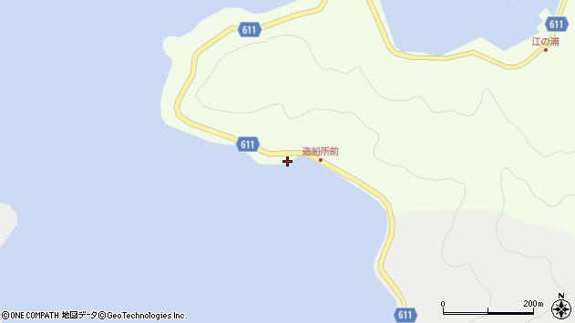 大分県津久見市網代3488周辺の地図