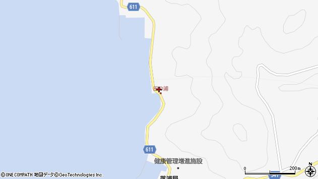 大分県津久見市四浦4086周辺の地図