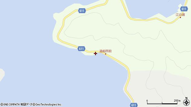 大分県津久見市網代3448周辺の地図