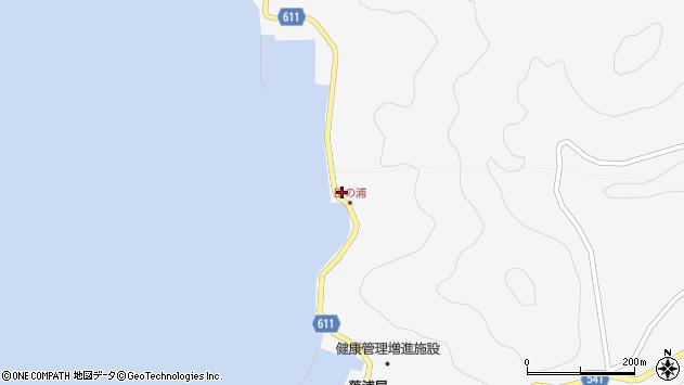 大分県津久見市四浦4087周辺の地図