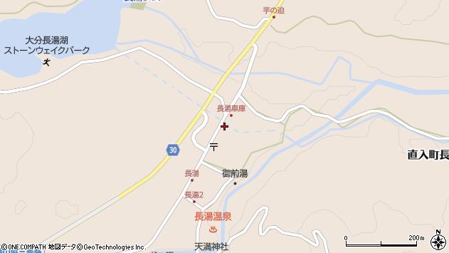 大分県竹田市直入町大字長湯7949周辺の地図