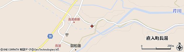 大分県竹田市直入町大字長湯7919周辺の地図