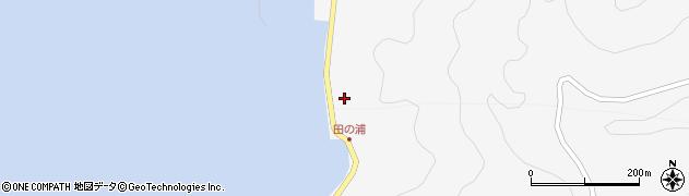 大分県津久見市四浦5335周辺の地図