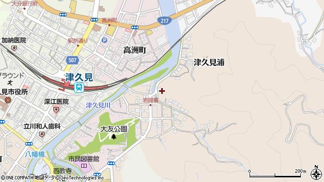 大分県津久見市岩屋町12周辺の地図