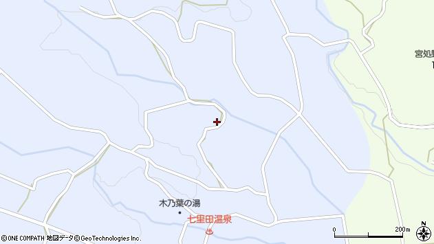 大分県竹田市久住町大字有氏4213周辺の地図