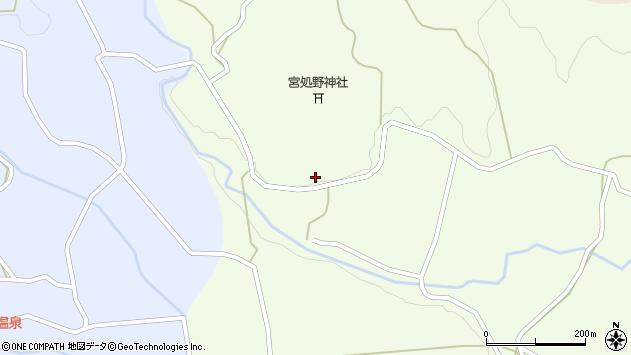 大分県竹田市久住町大字仏原1848周辺の地図