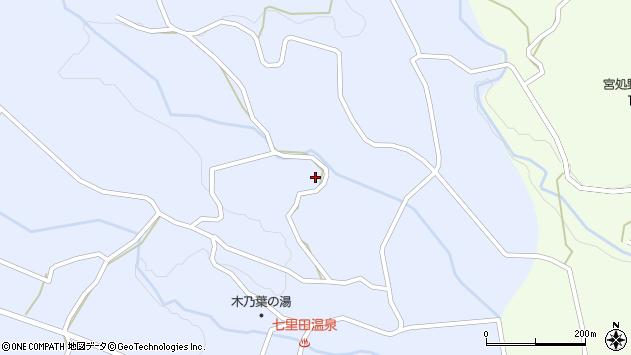 大分県竹田市久住町大字有氏4216周辺の地図