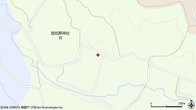 大分県竹田市久住町大字仏原市周辺の地図