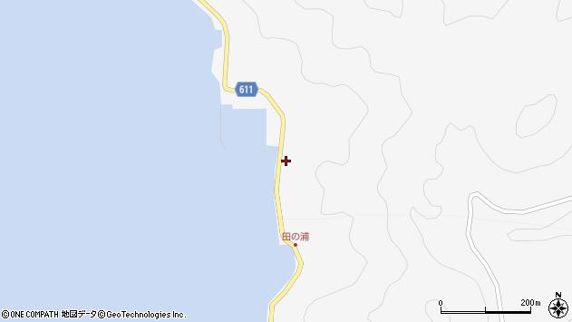 大分県津久見市四浦5325周辺の地図