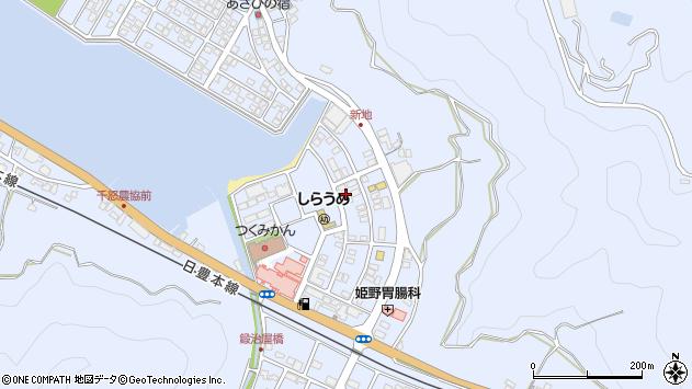 大分県津久見市千怒6168周辺の地図