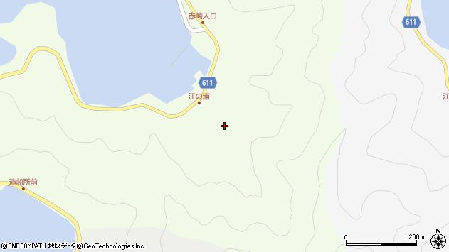 大分県津久見市網代3857周辺の地図