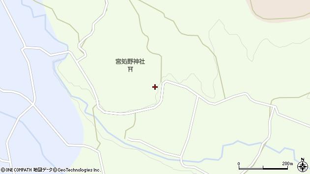 大分県竹田市久住町大字仏原1863周辺の地図