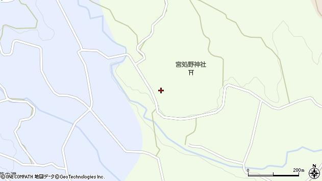 大分県竹田市久住町大字仏原2219周辺の地図