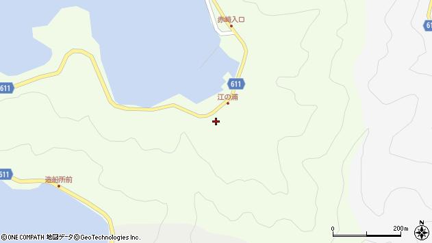 大分県津久見市網代3813周辺の地図