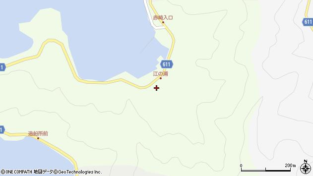 大分県津久見市網代3816周辺の地図
