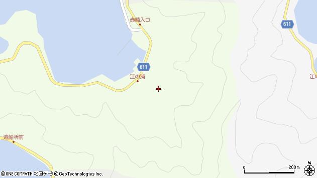 大分県津久見市網代3852周辺の地図