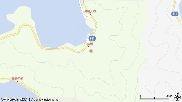 大分県津久見市網代3838周辺の地図