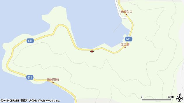 大分県津久見市網代3652周辺の地図