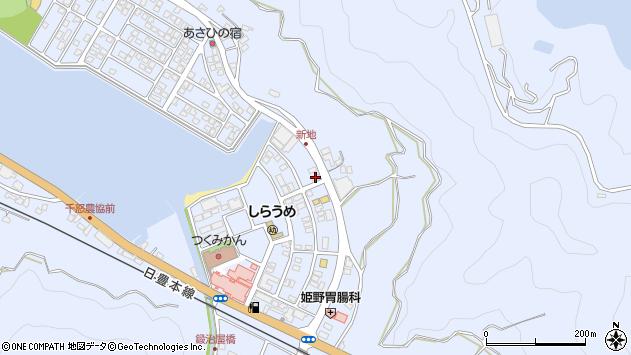 大分県津久見市千怒6212周辺の地図