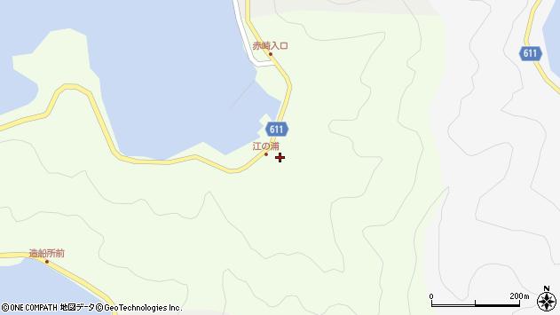大分県津久見市網代3846周辺の地図