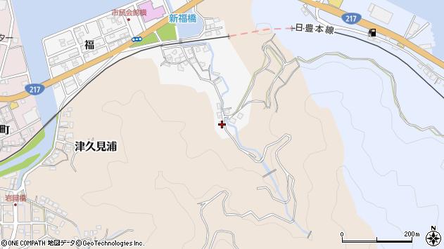 大分県津久見市津久見浦3532周辺の地図
