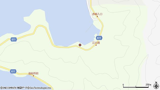 大分県津久見市網代3687周辺の地図