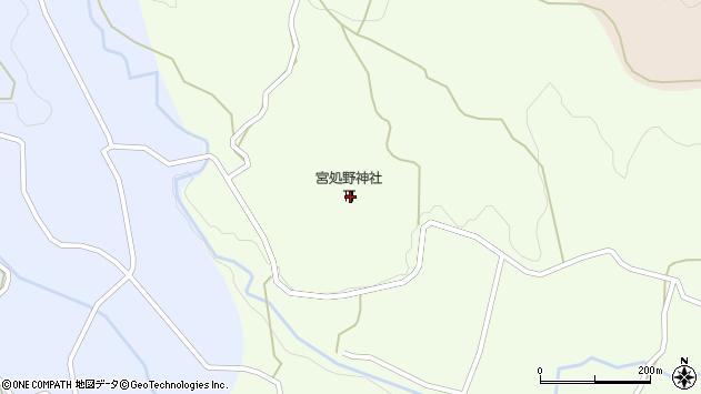 大分県竹田市久住町大字仏原1805周辺の地図