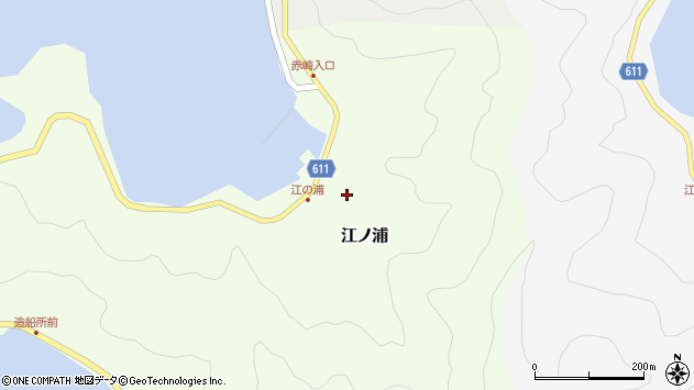 大分県津久見市網代4088周辺の地図