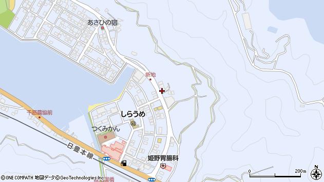 大分県津久見市千怒4632周辺の地図