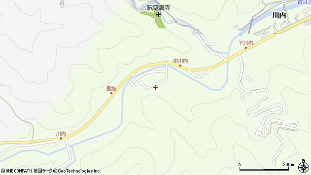 大分県津久見市上青江6607周辺の地図