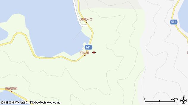 大分県津久見市網代4095周辺の地図