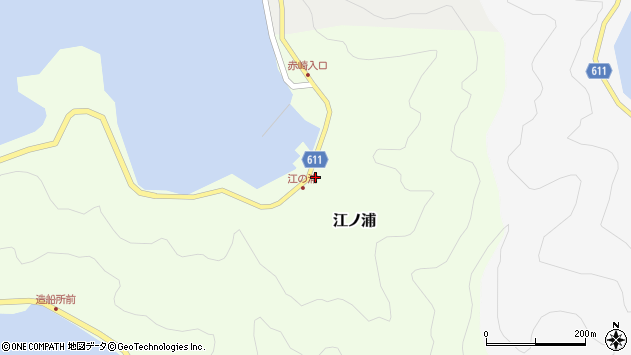 大分県津久見市網代3847周辺の地図