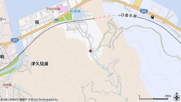 大分県津久見市津久見浦3534周辺の地図