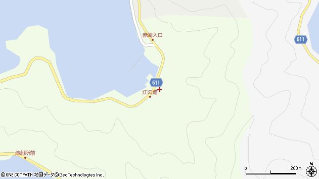 大分県津久見市網代4090周辺の地図