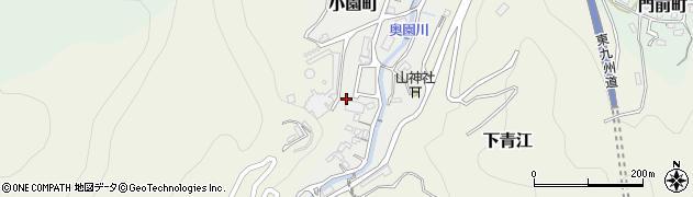 大分県津久見市小園町10周辺の地図