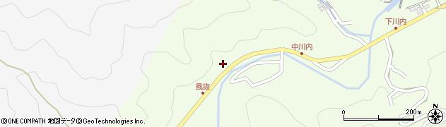 大分県津久見市上青江6425周辺の地図