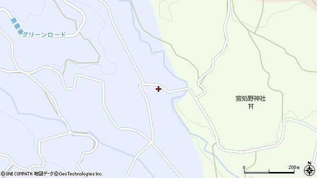 大分県竹田市久住町大字有氏4691周辺の地図