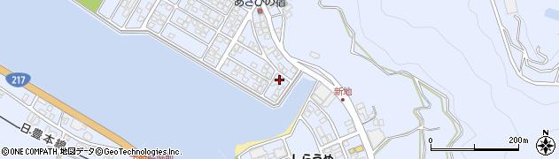 大分県津久見市千怒5095周辺の地図