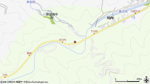 大分県津久見市上青江6387周辺の地図