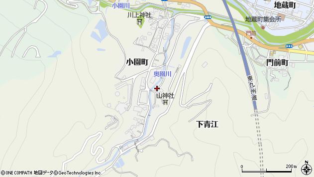 大分県津久見市小園町8周辺の地図
