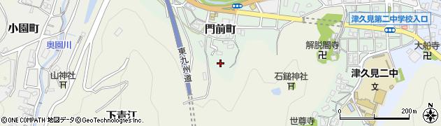 大分県津久見市門前町6周辺の地図
