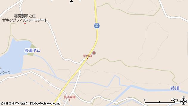 大分県竹田市直入町大字長湯8241周辺の地図