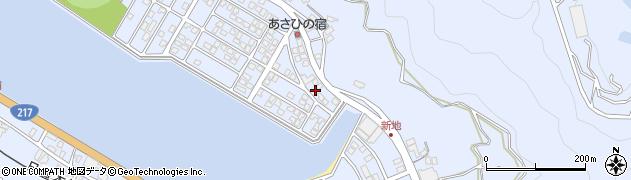 大分県津久見市千怒5080周辺の地図