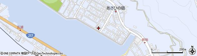 大分県津久見市千怒5242周辺の地図