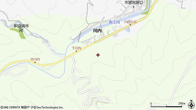 大分県津久見市上青江5939周辺の地図