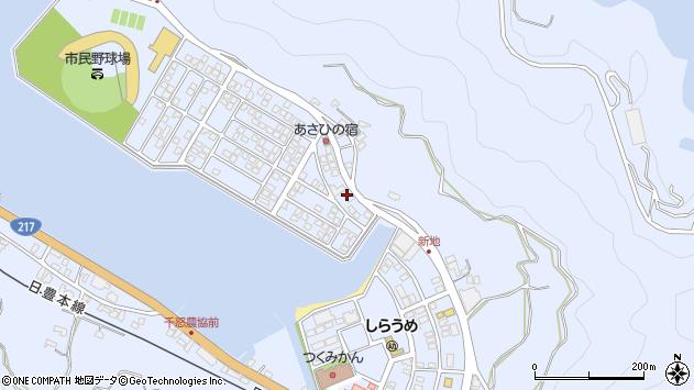 大分県津久見市千怒5069周辺の地図