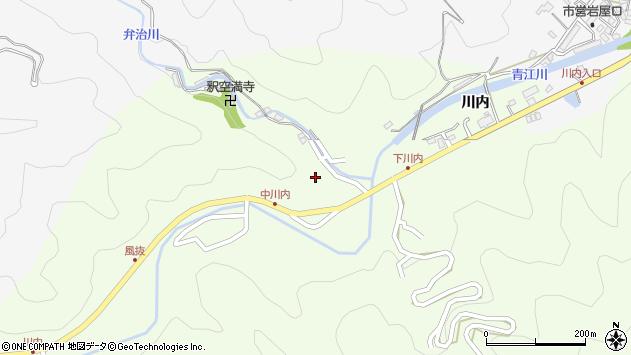 大分県津久見市上青江6358周辺の地図