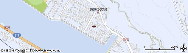 大分県津久見市千怒5101周辺の地図